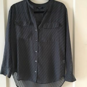 Sheer madewell top.